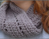 CLEARANCE Adult Unisex Crocheted Cowl