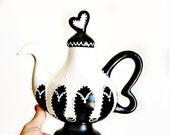 Steampunk Wonderland teapot