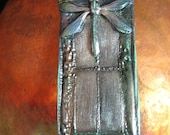 Reserved for Little Missie: Polymer Dragonfly Window Pendant