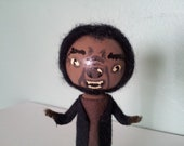 Werewolf Clothespin Doll - MADE TO ORDER