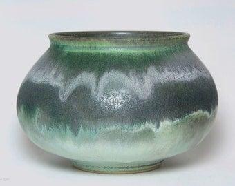 Turquoise Porcelain Bowl // ceramic // handmade // wheel thrown // OOAK