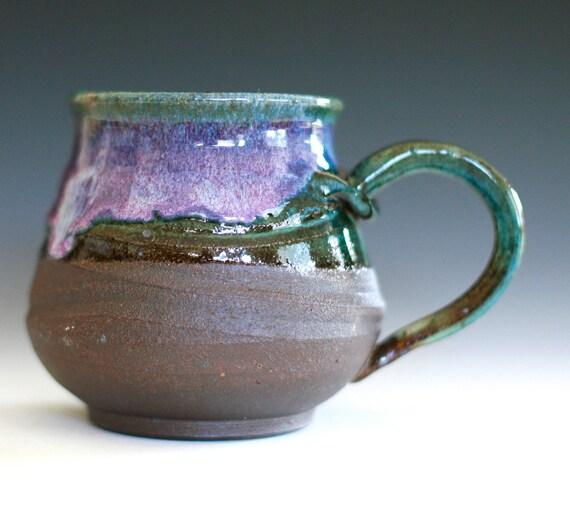 Large Coffee Mug, Holds 21 oz, handmade ceramic cup, coffee cup