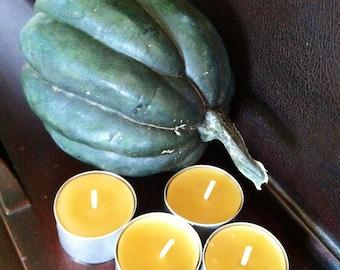 Beeswax tea-light