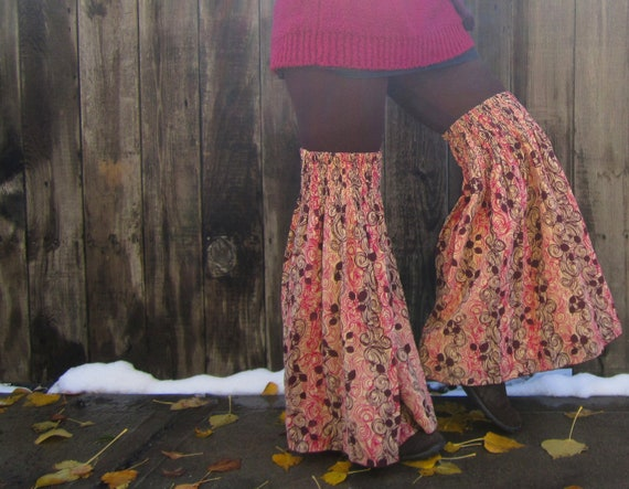 Flared Leggies- Leg Flares- Upcycled Clothing- Hooping- Gypsy- Hippie- Boho- Thigh Highs- Black Friday Etsy Cyber Monday Etsy