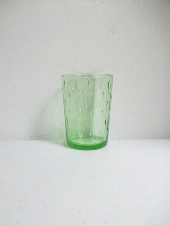 Antique Green Hazel Atlas Glass /