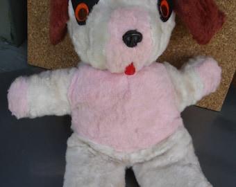 Vintage Musical Stuffed Dog