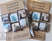 ROANOKE LANDMARK Scrabble Magnets