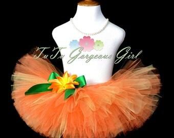 Orange Halloween Pumpkin Tutu...Pumpkin Costume, Halloween Photo Prop, Dance Tutu...Baby, Toddler, Girls Sizes...MY LITTLE PUMPKIN