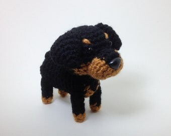 Original Filet Pattern Rottweiler Theme 019