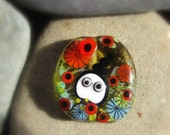 Netty's Haven Focal Bead by Mad Cat Glass - FHF - British Lampwork - SRA - GBUK