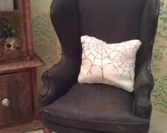 spider web -  Print Pillow Pair - Dollhouse Size