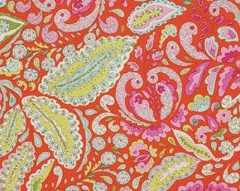 Dena Designs Jocelyn in Orange Fabric Pretty Little Things One Yard