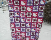 Hello Kitty Blanket - RESERVED FOR lostdwarf