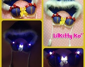 Snow White with LED Bra and Hoodie - Made to Order