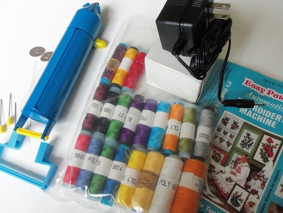 easy embroidery machine