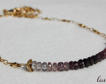 Amethyst Ombre Necklace