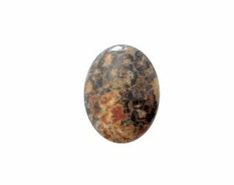 8x6mm Leopard Skin Jasper gem stone Cabochon loose  gemstone diy doll jewelry 455x