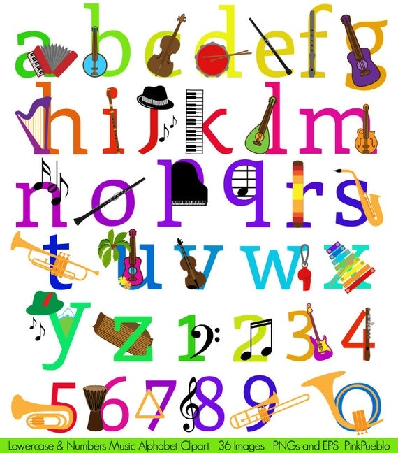 Musical Instruments List  Letters