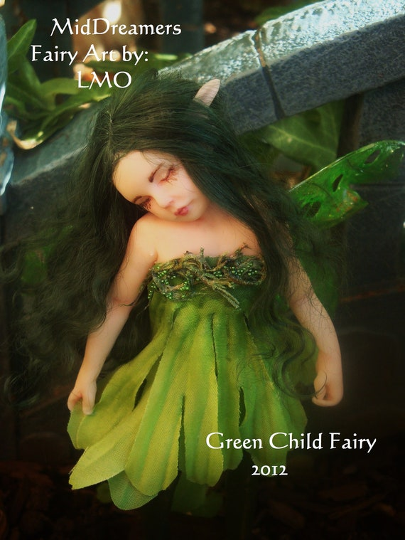10% off Sale for Green Child Fairy
