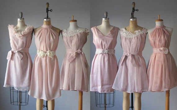 Mismatched Bridesmaid Dresses / Dress / By AtelierSignature
