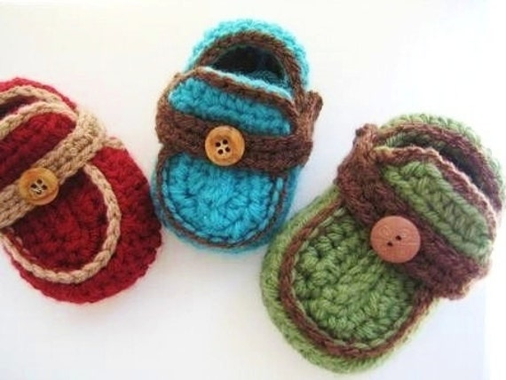 Baby Booties Free Crochet Pattern Moccasins : Baby Booties Crochet Pattern Crochet Baby Booties Pattern