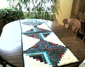 Navajo a 19 inch by 56 inch quilted table runner