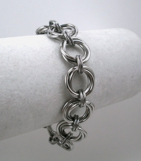 Classic Stainless Steel Vortex Bracelet
