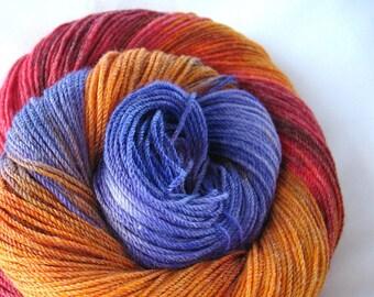 Merino Bamboo Yarn Hand Dyed (HZO18)