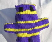 Small Radical Bear - Purple Yellow 14 Christmas Holiday