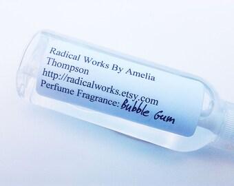 Bubble Gum Perfume Spray - Cologne - Perfume Bottle - Natural Perfume - Perfume Atomizer - Perfume Samples