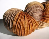 MCN hand dyed yarn worsted weight - driftwood