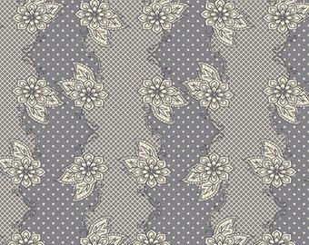 Henna Stripe Grey  (LB-2104) - Lilly Belle -Bari J for Art Gallery Fabrics - By the Yard