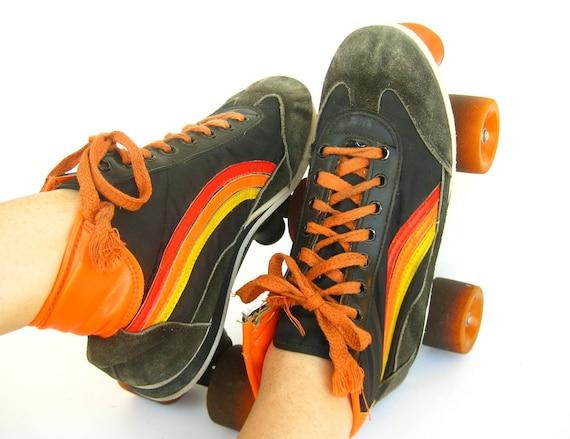 1980s Vintage Roller Skates Made in Germany Size 41