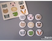 9 Magnets in a Set,  ZOO by Maedchenwahn