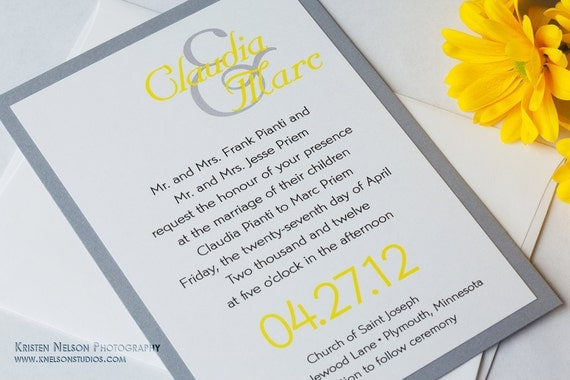 il_570xN.389381872_c7g8 yellow and gray wedding invitations gray and yellow wedding,Yellow And Gray Invitations