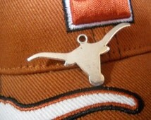 Longhorn Pendants Antiqued Silver Texas Pendants Charms Western Charms Stock Show Charms