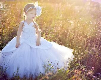 Sale Code Beautiful 3d Rose Flower Girl Dress 12 months to 5t