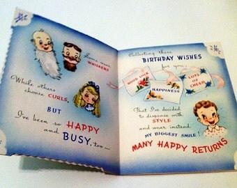 1948 Birthday Greeting Card