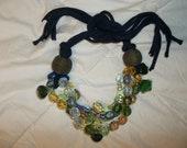 Fall fashion big anthropology bib chunky statement teardrop butterfly women choker adjustable necklace jewelry  gift