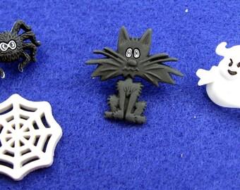 Halloween Buttons Set No. 7