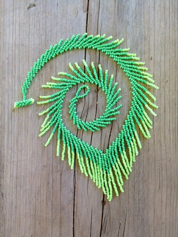 Leaves of Grass Necklace