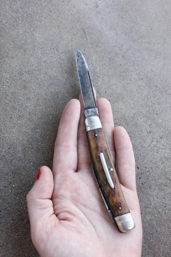 Antique 1901-1946 XLNT Kastor Bros. 2 Bladed Pocket Knife