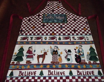 Christmas Apron - Santa's Helper