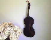 Hopf Violin Antique German Instrument Salvaged Assemblage Art