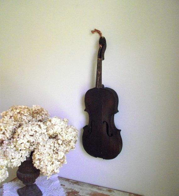 Hopf Violin Antique German Instrument Salvaged Assemblage Art