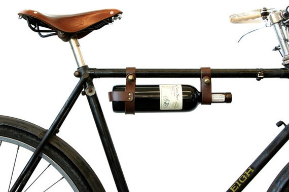 Items Similar To Bicycle Wine Rack 1 Frame Brown On Etsy