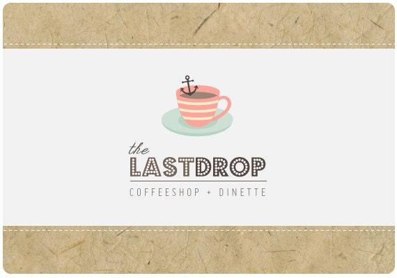 PreDesigned Custom Logo Design  -  LAST DROP Vintage Logo