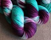 Polyjuice Potion - SW Merino & Nylon Sock Yarn - Hand Dyed - 462 yds