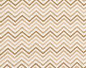 Decorative Chevron - Brown - Small Chevron - 1/2 yard
