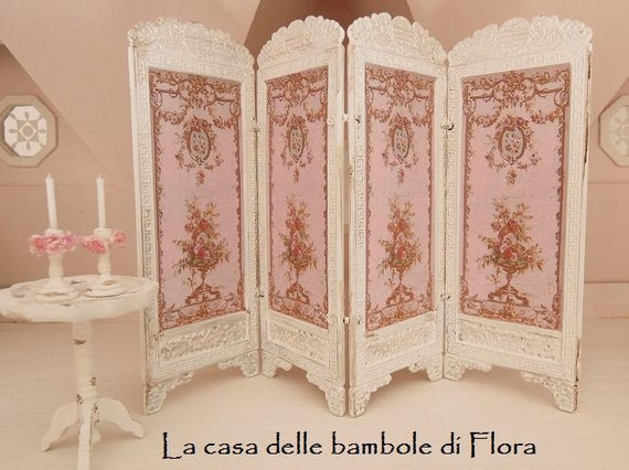 Marie Antoinette French Shabby Chic Room Divider By